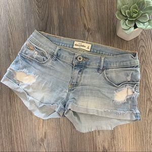 Abercrombie Kids Jean shorts 16
